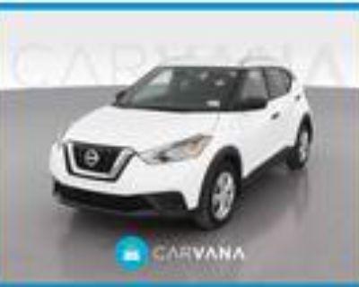 2018 Nissan Kicks White, 29K miles