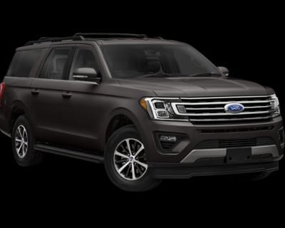 New 2021 Ford Expedition Max Limited With Navigation