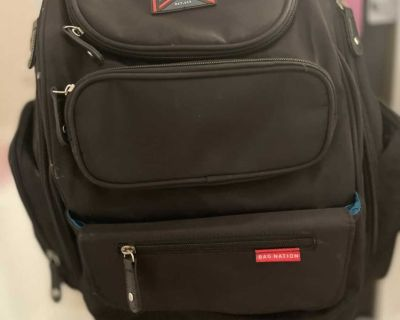Traveling diaper Backpack