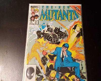 The New Mutants #37 - Beyonder - Marvel Comics