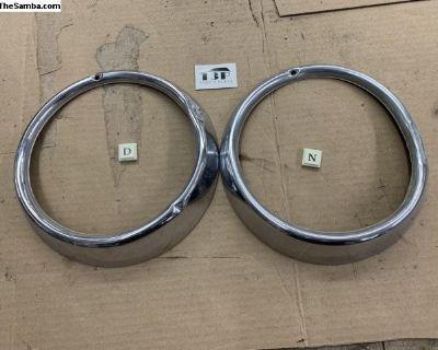 Hella SB12 headlight trim rings