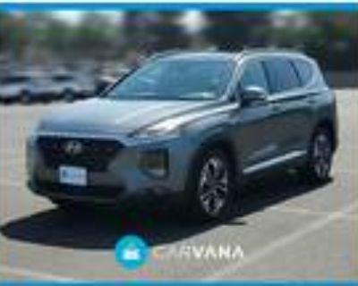 2019 Hyundai Santa Fe Silver, 19K miles