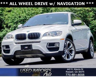 2013 BMW X6 AWD 4dr xDrive35i