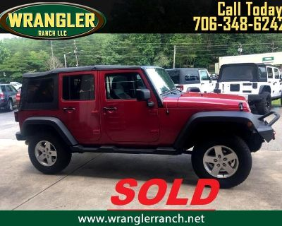 Used 2008 Jeep Wrangler Unlimited X 4WD