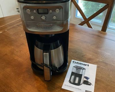 Cuisinart Burr Grind & Brew Thermal 12 Cup Coffee Maker