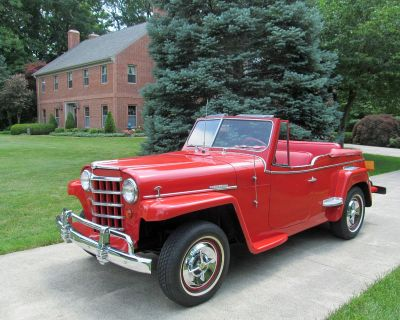 1950 Willys Overland Jeepster Convertible