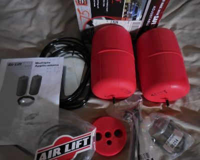 AIR LIFT SET 60733-1000 WILL FIT MANY GM VEHICLES