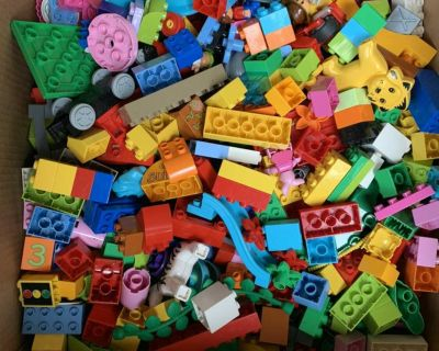 Assorted LEGO Duplo s. Hundreds of legos in great condition.