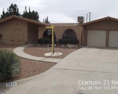 2828 Devils Tower Cir, El Paso, TX 79904 3 Bedroom House