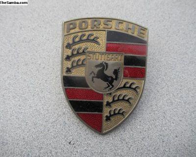 Porsche 911/912 Front Hood Emblem