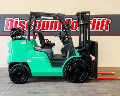 2014 MITSUBISHI FG40N Forklifts - Mast