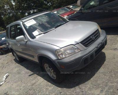 Salvage Silver 1999 Honda Cr-v
