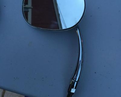 Side Mirror With Hinge Pin