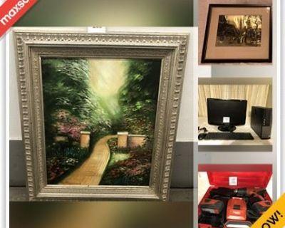 Livermore Downsizing Online Auction - Gardella Plaza (STORAGE)