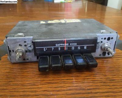 Sapphire XVIII original radio