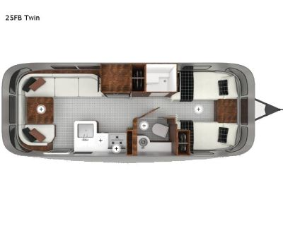 2022 Airstream Globetrotter 27FB Twin
