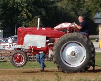 1951 Farmall M Pulling Tractor