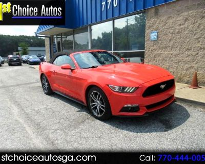 Used 2016 Ford Mustang 2dr Conv EcoBoost Premium