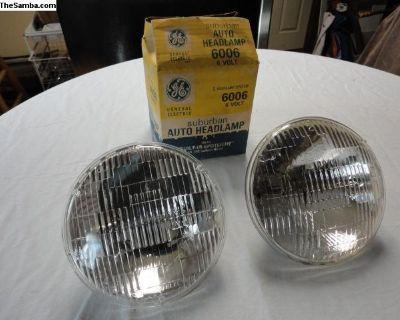 NOS 6 Volt Headlight Bulbs