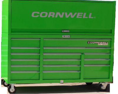 "Cornwell 76"" Pro Series Cabinet and Hutch Tool Box"