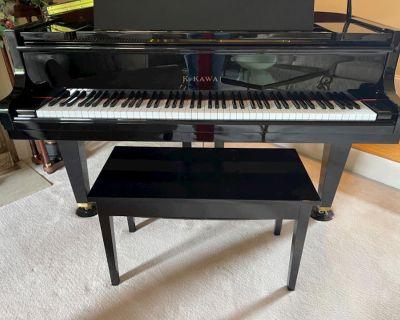 BABY GRAND PIANO-K. KAWAI-MODEL GE-1A --Spectacular!