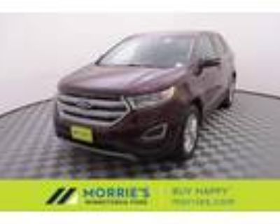 2018 Ford Edge Red, 34K miles