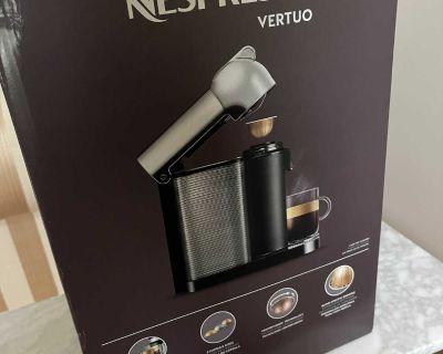Nespresso Vertuo machine brand new