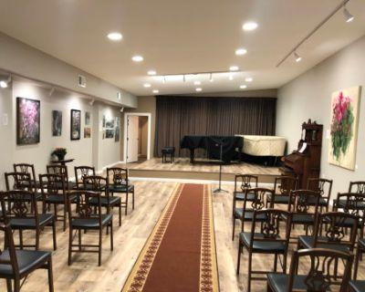 San Mateo Recital and rehearsal space, San Mateo, CA