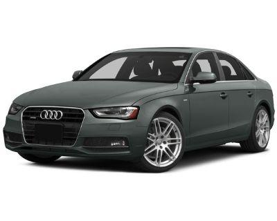 Pre-Owned 2015 Audi A4 Premium AWD 4dr Car