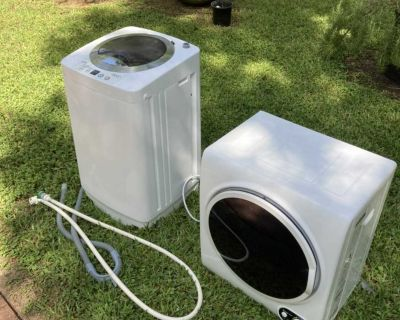 Mini washer and dryer