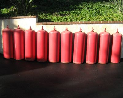 Large Acetylene Cylinders