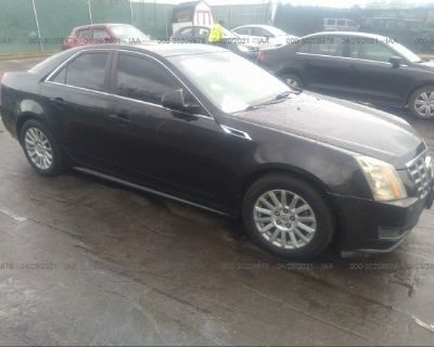 Salvage Black 2012 Cadillac Cts Sedan