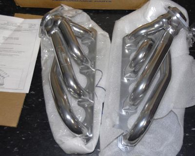 Ford Racing Shorty Un-equal Length Headers Coated 86-93 302 Mustang M-9430-p51