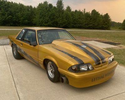93 Mustang Stock Suspension