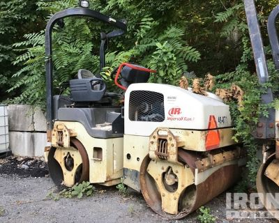 2007 Ingersoll-Rand DD-38HF Vibratory Double Drum Roller