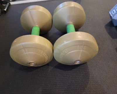 10 lbs dumbbells weights poids alt res