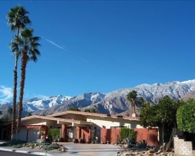 Beautiful, Spacious Villa - Pool & Spa - Upscale Neighborhood in South P.S. - Palm Springs