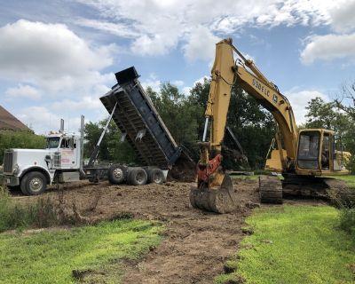 Dirt Work, Excavating, Dump Truck Services