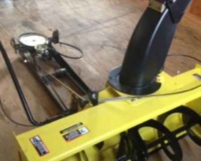 John Deere 44-in. Snow Blower for 100 Series Tractors (NEW!)