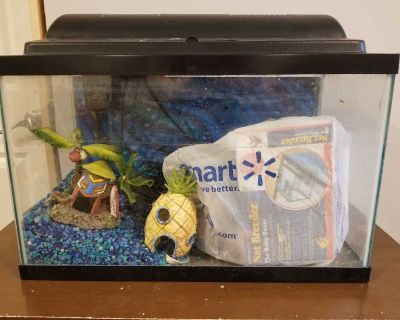 Fish tank and extras
