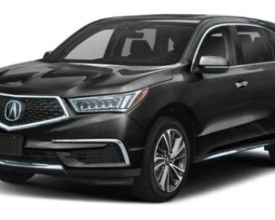 2019 Acura MDX Technology with Entertainment Package