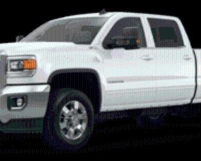 2015 GMC Sierra 2500HD SLE with Available WiFi Crew Cab Standard Box 4WD