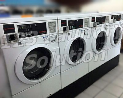 Speed Queen Front Load Washer Horizon Softmount Card Reader SWFX71WN White AS-IS