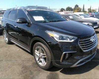 Salvage Black 2019 Hyundai Santa Fe Xl