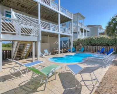 3 King Master Suites, Amazing Heated Pool, Ocean Views & Sounds on both decks - Ocean Isle Beach