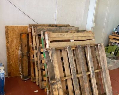 30 pallets- dry in various condition