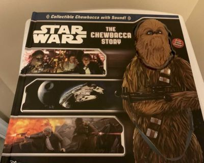 Star Wars with collectible Chewbacca
