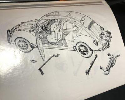 Original Empi print shop artwork GTV