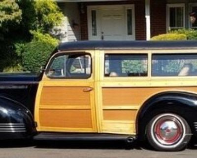 1941 Woody Packard 110 Converted Coupe