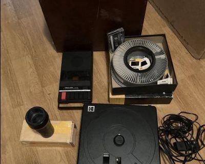 Kodak 4400 carousel projector